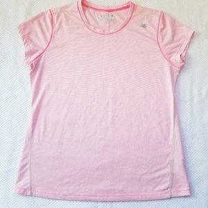 Light pink new balance workout top Sz:Lg